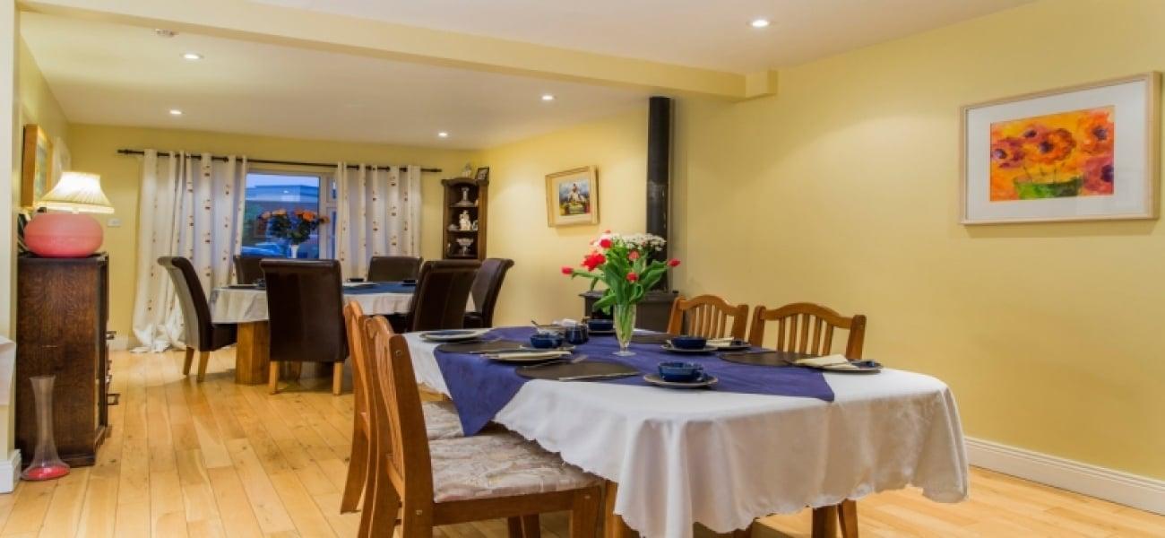 Dinning Area of B&B in Kilkenny